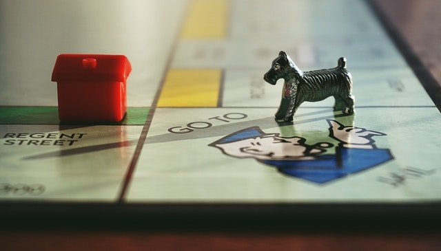 Monopoly is a training ground for real estate agents and buyers.