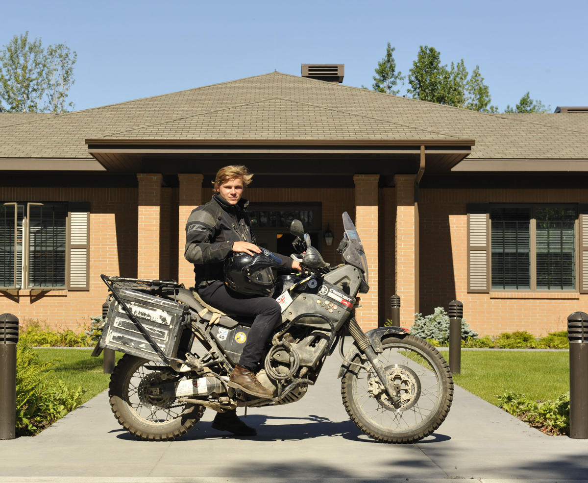 You can use anything as your option fee – even a motorcycle.