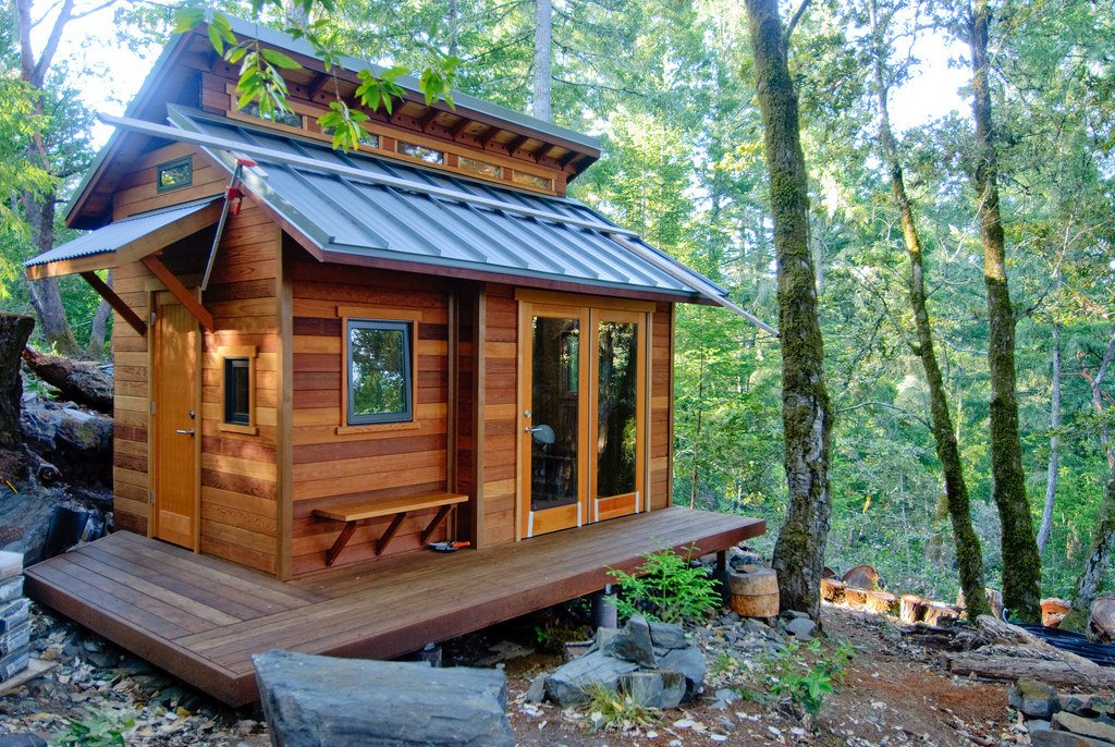 Yes, you can rent tiny homes!